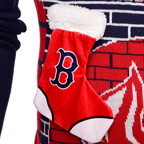 Boston Red Sox Ugly 3d Sweater Mens Small Available In Qatar