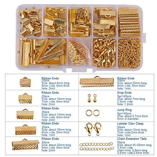 PandaHall Jewelry Basics Lobster Extender