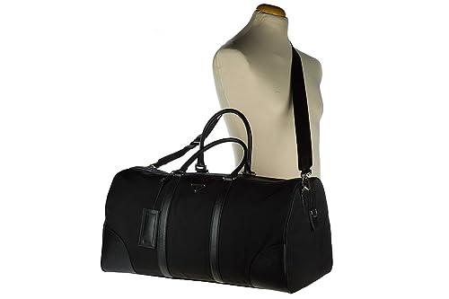39de473c4df5 ... cheapest amazon prada travel duffle weekend shoulder bag nylon black  shoes 90a03 e3bd7