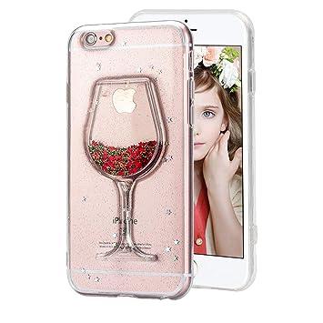 coque verre de vin iphone 8