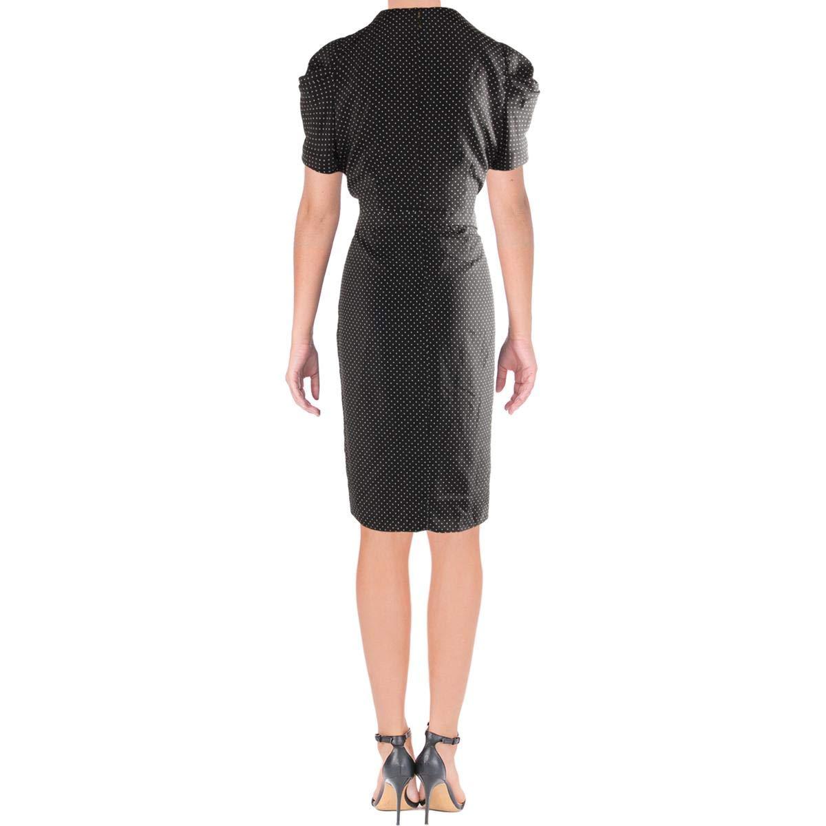 Ralph Lauren Lauren Vestido Casual para Mujer - Negro - 36: Amazon ...