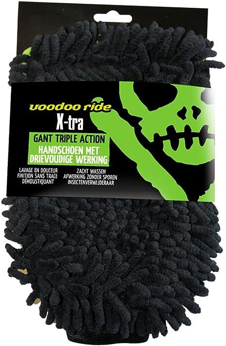 Voodoo Ride Vr180140 Extra Wash Mitt Waschhandschuh Mit 3 Funktionen Green Auto