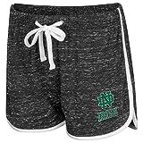 Womens Notre Dame Fighting Irish Gym Shorts - L