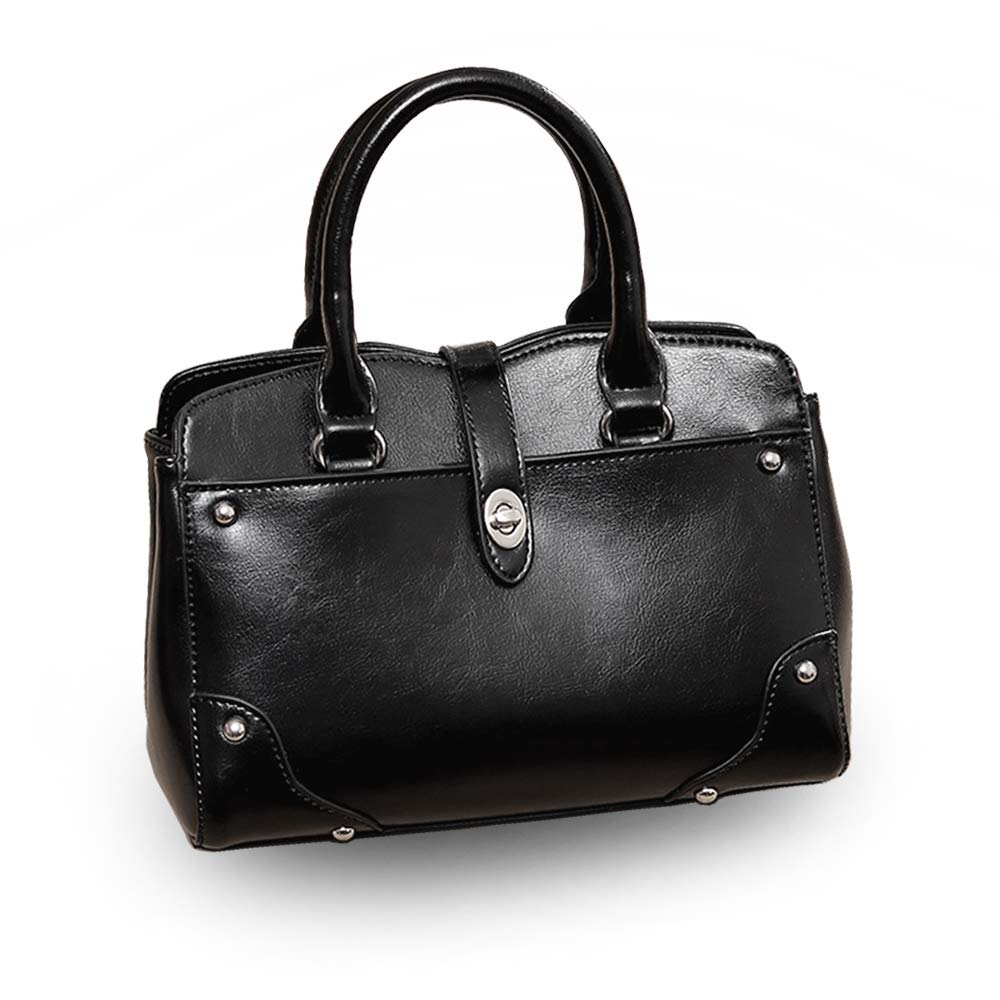 Black WingsWen Handbags Hobo Purses Satchel Bag Tote Leather Purse Handbags for Women