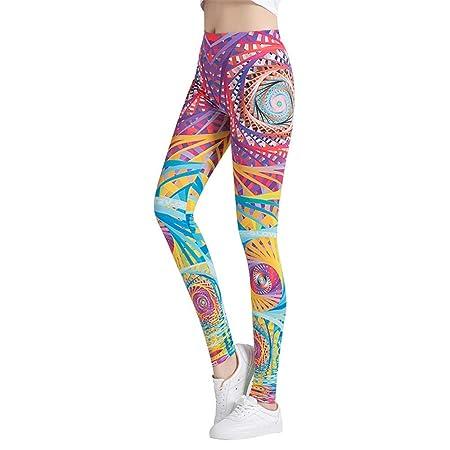 Yujiakz Pantalones de Yoga para Adelgazar Medias de Fitness ...