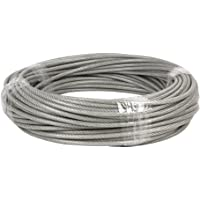Cofan Rollo 50m cable acero plastificado Ø3x5mm