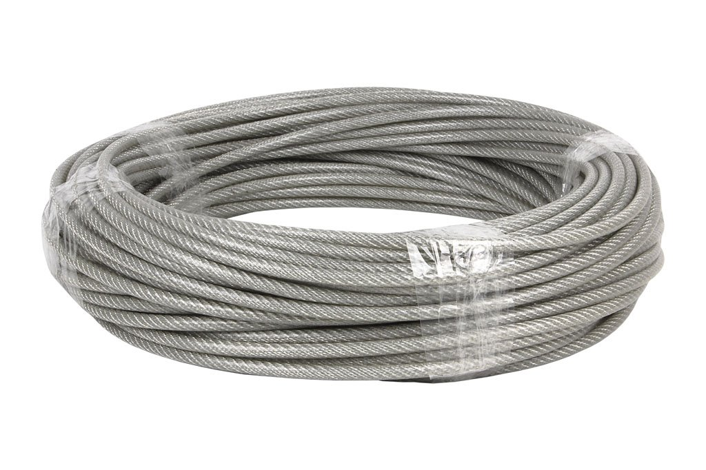 CoFan 00503005A–CABLE Plastic-Coated Steel, 3X 5mm, 100M)