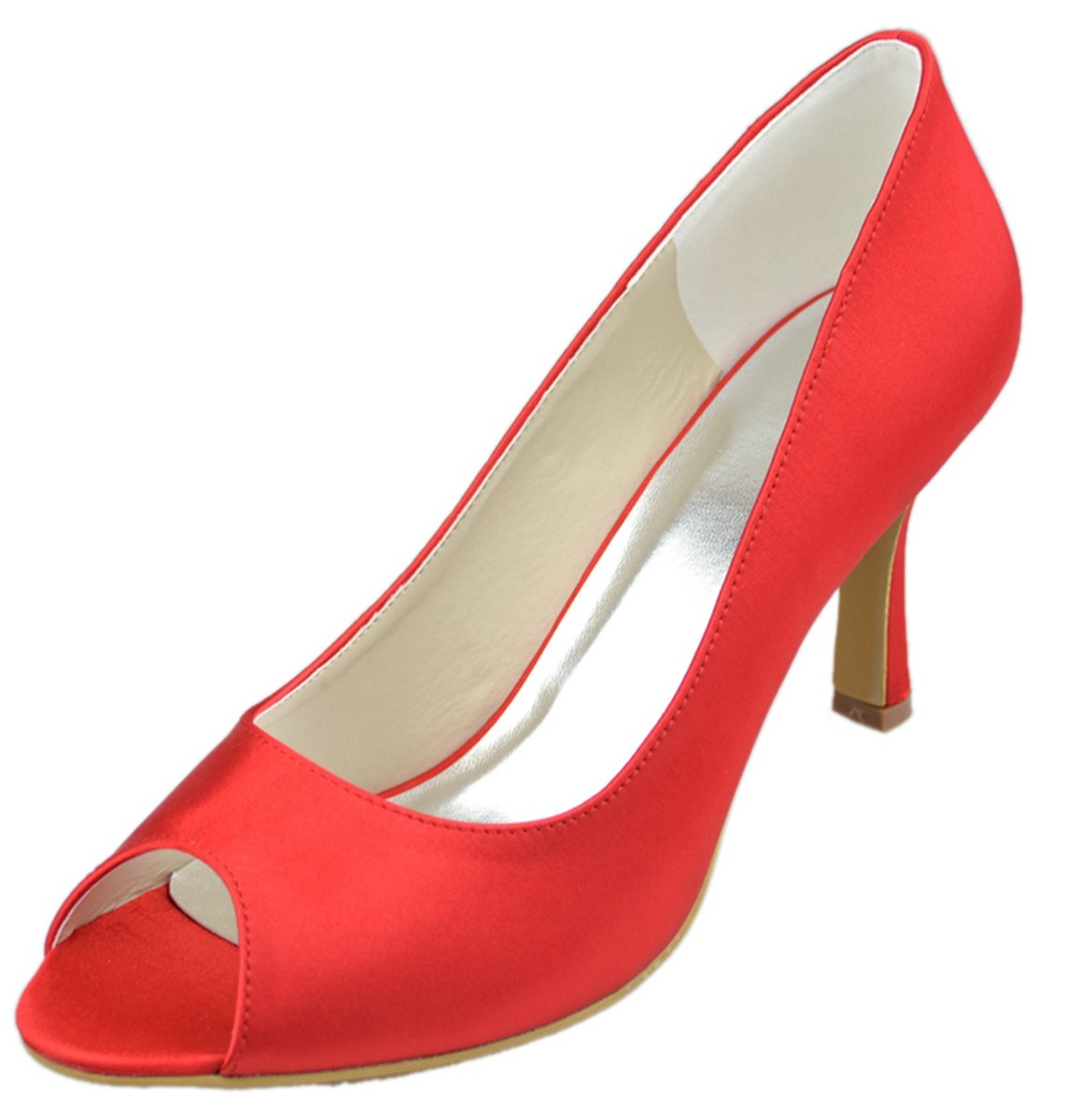 Minitoo Rouge , Peep-Toe B07CMHTFF6 femme Rouge - femme rouge 77da4e8 - deadsea.space