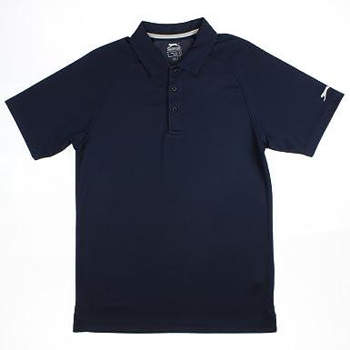 6feae496 Amazon.com: Slazenger Men's Tech Solid Golf Polo Shirt: Clothing