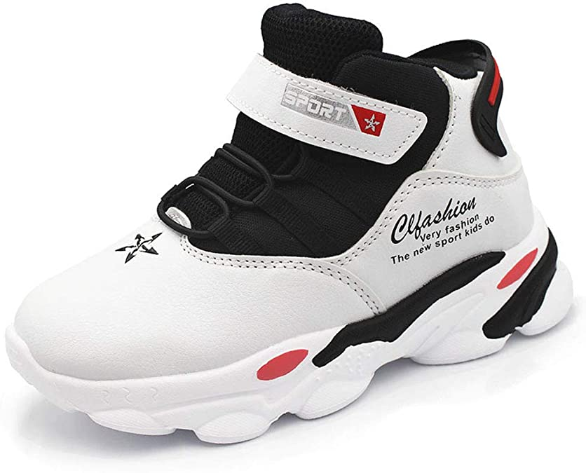 28-39 EU HSNA Baskets Mode Enfants Fille Chaussures de Sport Respirant L/ég/ères Chaussures l/'/école de Fille