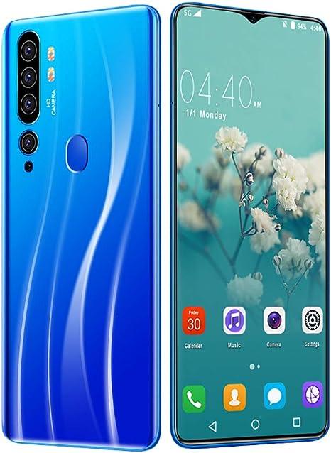 L&F Smartphone 4G, Teléfono Inteligente, Pantalla Completa de 6.7 Pulgadas Waterdrop, Batería de 4800mAh, 13MP + 24MP, 8GB RAM 256GB ROM, teléfono Dual SIM Android 9,A: Amazon.es: Deportes y aire libre