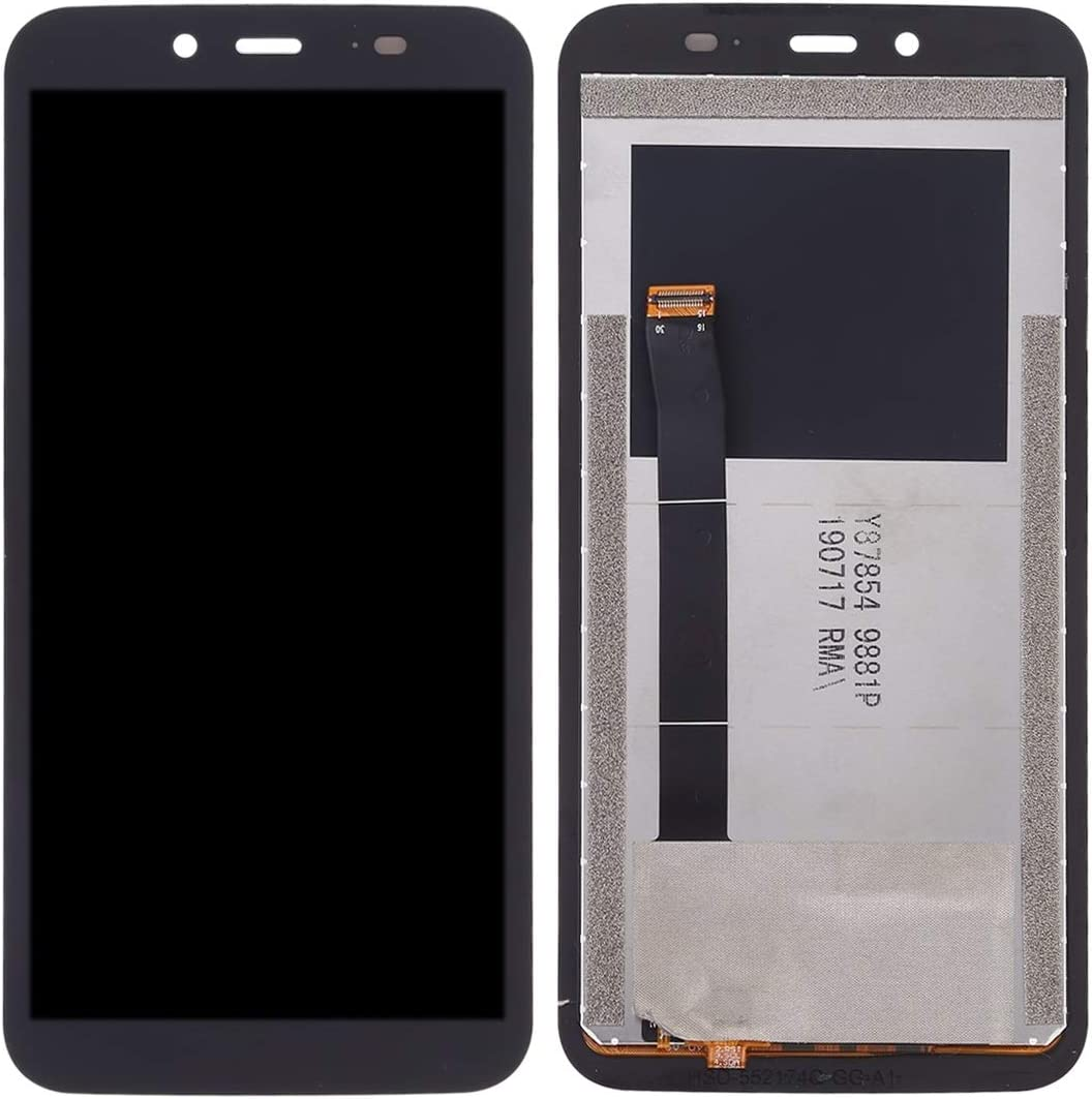 Color : Black Repair Part Black EasePoints for LCD Screen and Digitizer Full Assembly for Blackview BV5500 Pro