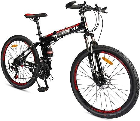GPAN Plegable Bicicleta de Montaña Bikes MTB con Doble ...