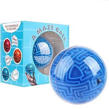 Mini 3d Magic Maze Puzzle Ball Cube Game Globe Sphere Bulk