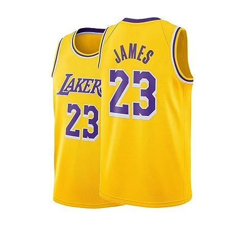 brand new 7a83b a7b53 Amazon.com : Fyhjfn Youth Los Angeles James Jersey Boys 23 ...