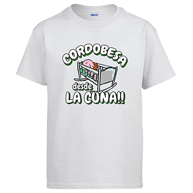 Diver Camisetas Camiseta Cordobesa Desde la Cuna Córdoba fútbol: Amazon.es: Ropa y accesorios