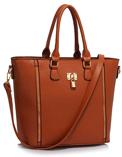 91fe322a13c3 Womens Handbags Sale Ladies Shoulder Bags Faux Leather Designer Large Tote  New  Amazon.co.uk  Shoes   Bags