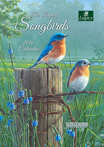 Legacy Publishing Group 2016 Pocket Calendar, Songbirds (PCL21344)