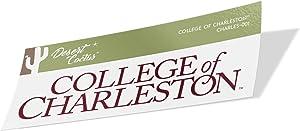 College of Charleston C of C Cougars NCAA Vinyl Decal Laptop Water Bottle Car Scrapbook (Sticker - 001)