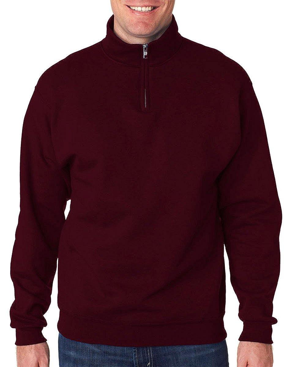 Jerzees 8 oz. 50/50 NuBlend Quarter-Zip Cadet Collar Sweatshirt 995M