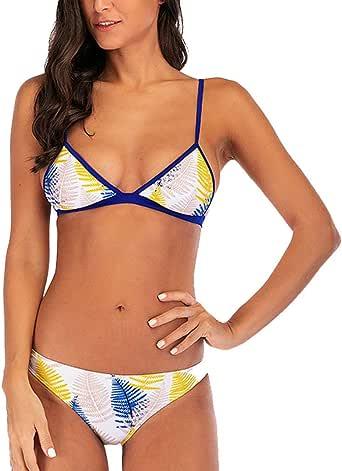 Amazon.com: Women Sexy Swimsuits 2 Pcs Brazilian Top Thong
