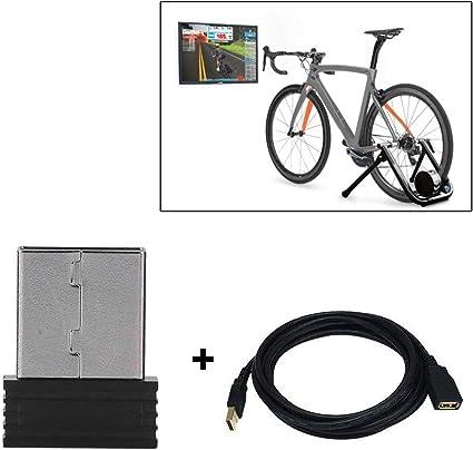 XIN DU QU Accesorios para bicicleta Mini ANT+ USB Stick Adaptador ...