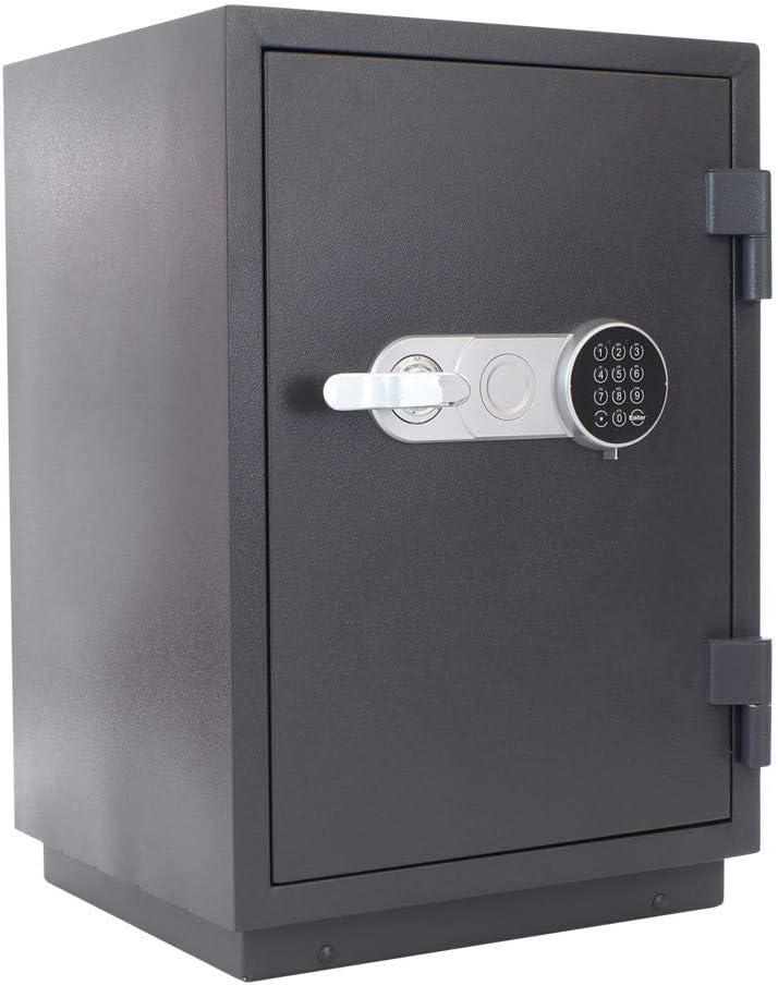 Profirst Versal Fire 65 ECB S FS60P - Caja fuerte antiincendios, con cierre electrónico, certificada, incluye material de anclaje: Amazon.es: Bricolaje y herramientas