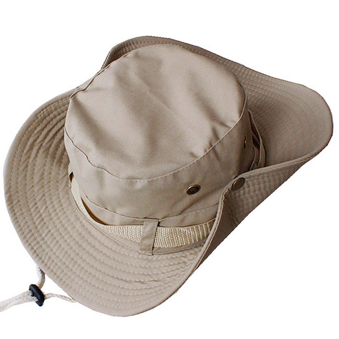 Millya Outdoor Fishing Sun Cap Reversible Camouflage Bucket Boonie Bush Hat