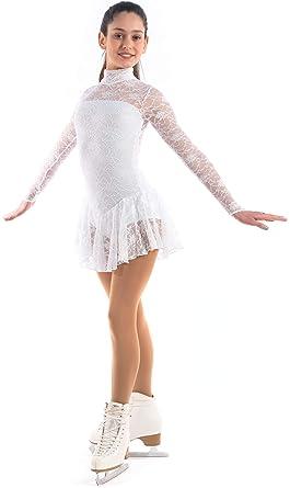 NWT SHOWCASE FIGURE ICE SKATING DANCE DRESS PK SIZE CHILD CM CL