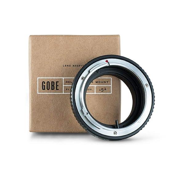 Gobe - Adaptador de Lentes Canon de Montura FD para Cuerpo de cámara Leica de Montura M: Amazon.es: Electrónica