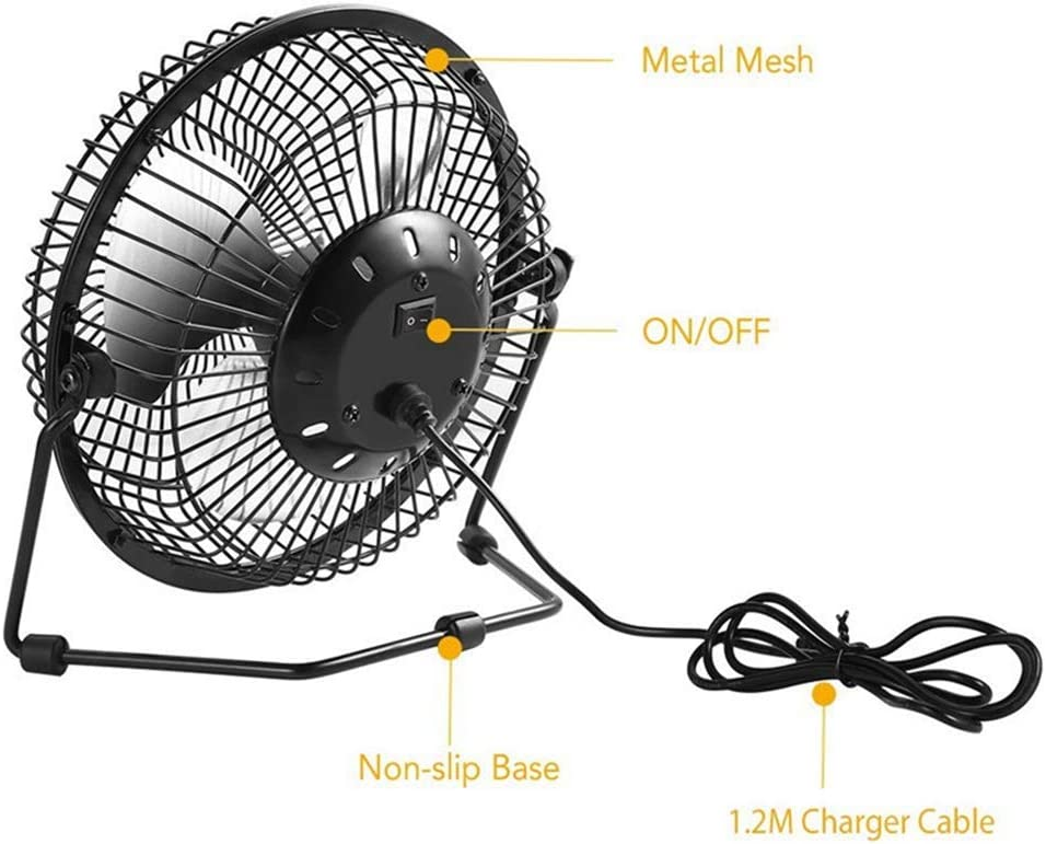 Solar Panel Fan 4.5W 6V Outdoor USB Solar Panel Powered Portable Mini Fan for Outdoor Home Travelling Chicken House Car