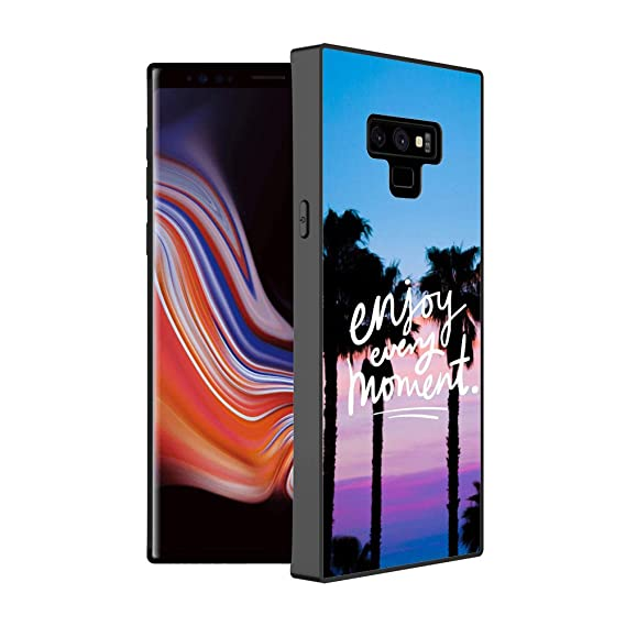 check out 11a1b c4c78 Amazon.com: Samsung Galaxy Note 9 Case Enjoy Every Moment Customize ...