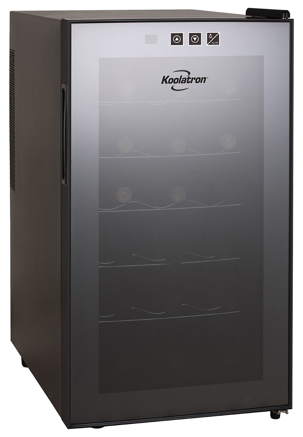 Koolatron WC18-MG18-Bottle Freestanding Dual-Zone Tower Wine Cellar