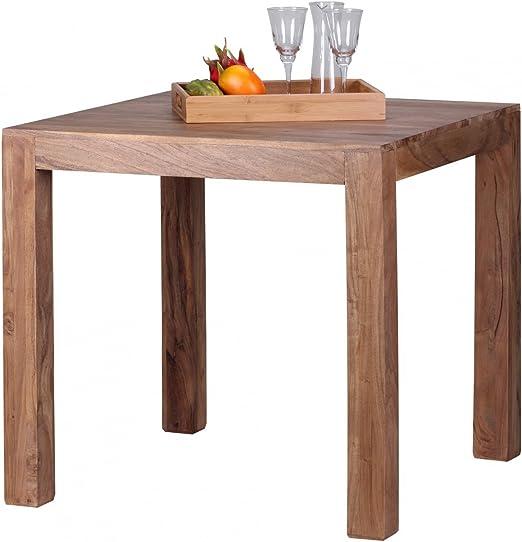 Diseño de la Mesa de Comedor Cuadrada sólida de 80 x 80 cm de ...