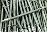 (10) Galvanized Concrete Wedge Anchor Bolts 1/2 x 10 Includes Nuts & Washers