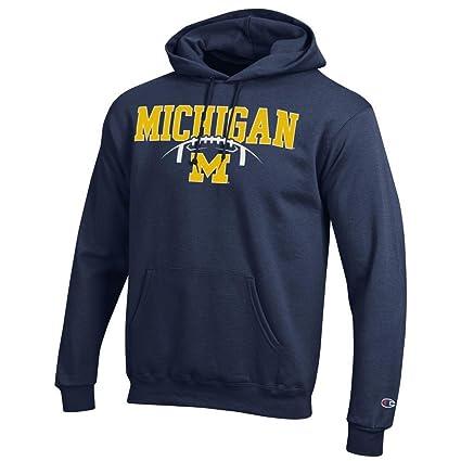 Sudadera con capucha para hombre de equipos de fútbol americano de la NCAA en varios colores