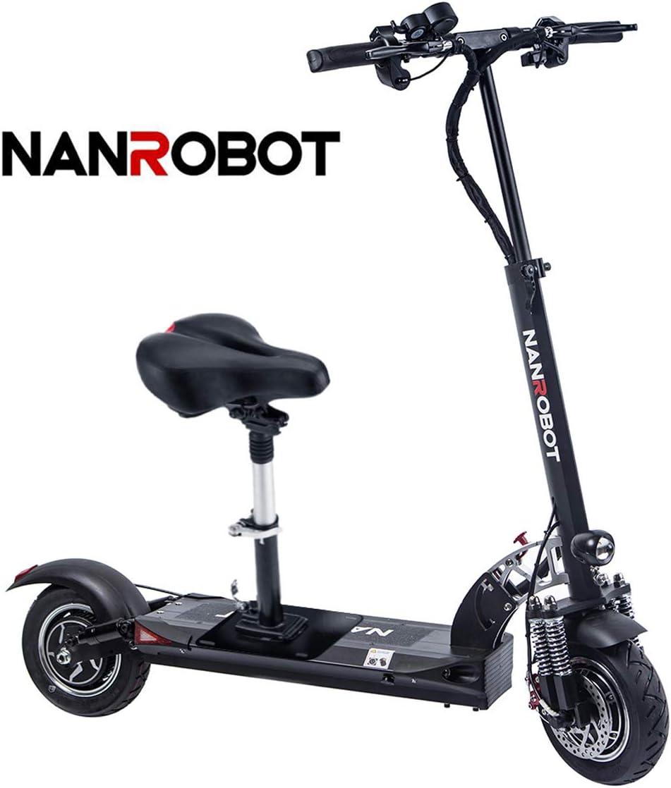 Amazon.com: FEVERUP NANROBOT D5+ Potente patinete eléctrico ...