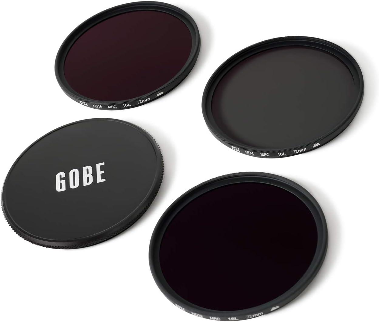 ND32 Gobe ND Filter Kit 82mm MRC 16-Layer ND16 ND4