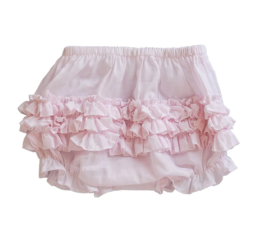 Carriage Boutique Baby Girl Ruffle Panty Diaper Covers - Classic Bloomers
