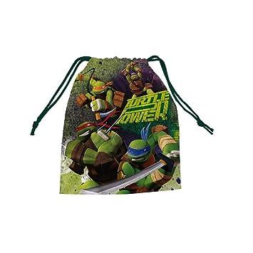 Saco Tortugas Ninja merienda: Amazon.es: Juguetes y juegos
