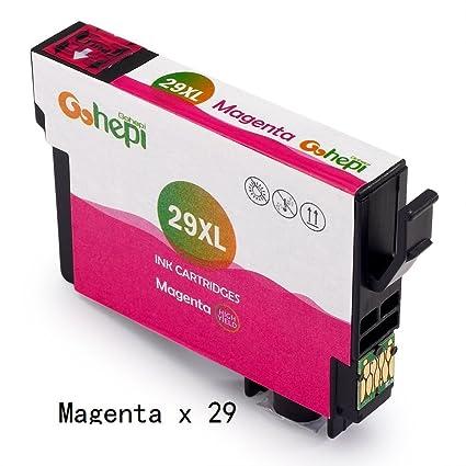 Gohepi 29xl cartuchos de tinta reemplazo para Epson 29 xl ...