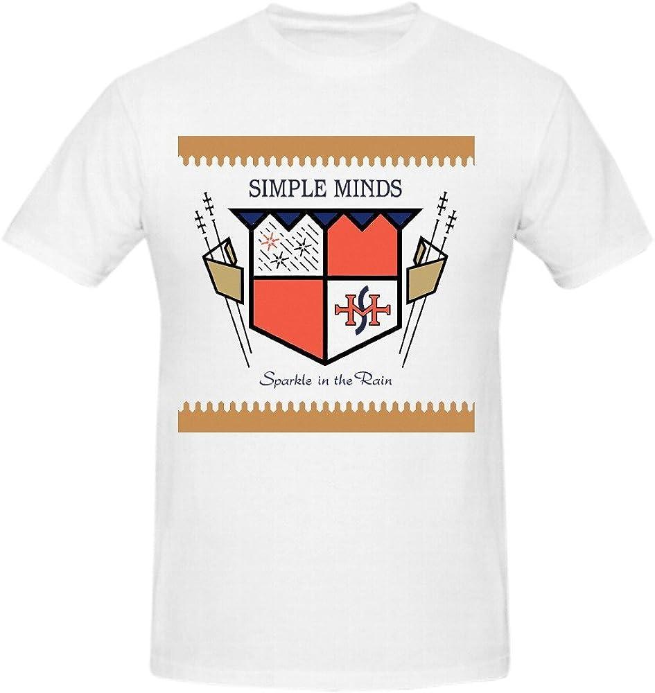 Simple Minds Sparkle In The Rain Mens T Shirts Design Crew Neck XXXX-L