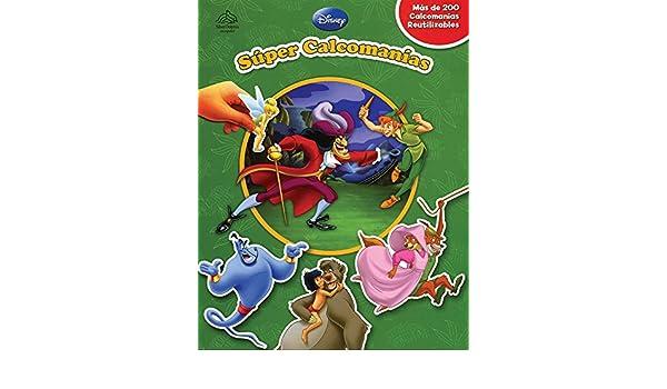 Super calcomanias / Super Sticker Book: Aladdin & El libro ...