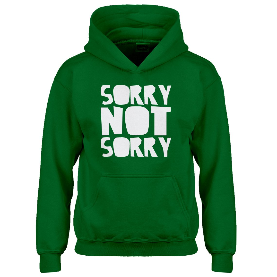 Indica Plateau Sorry, Not Sorry. Kids Hoodie 3105-Z