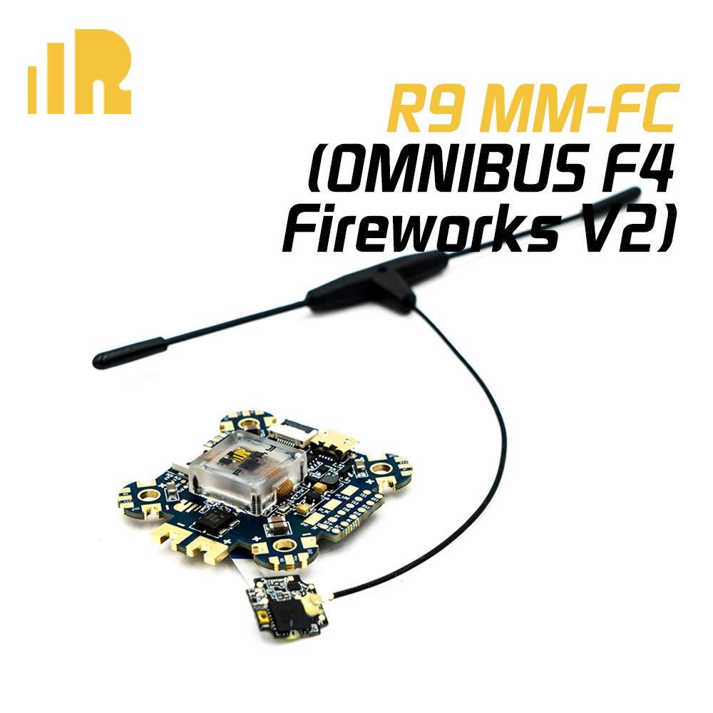 FrSky R9 MM-FC (Omnibus F4 Fireworks V2) フライトコントローラー B07N186731