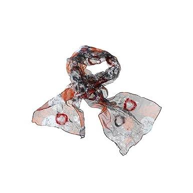 4c6a15d5449e08 Brio Schal schwarz-rot: Amazon.de: Bekleidung