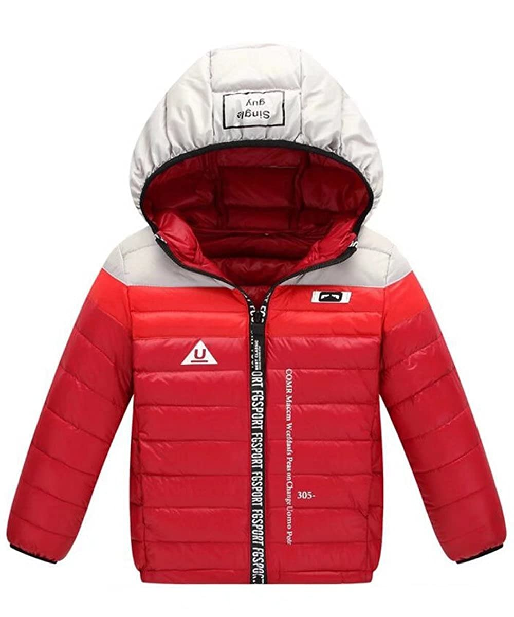 Gxia Girls/Boys Waterproof Hooded Snow Jacket
