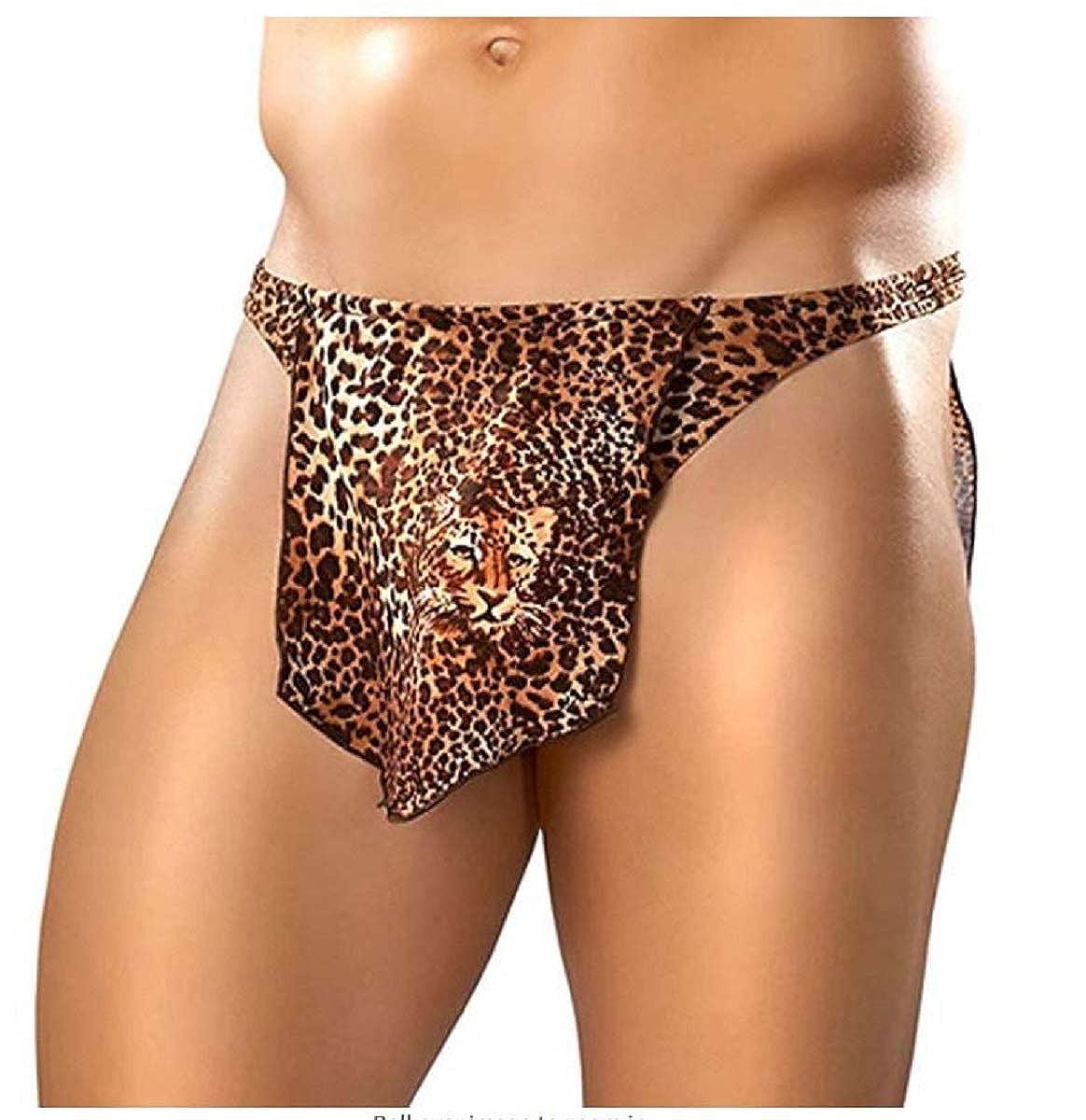Tarzan Thong in Leopard Print One Size Male Power
