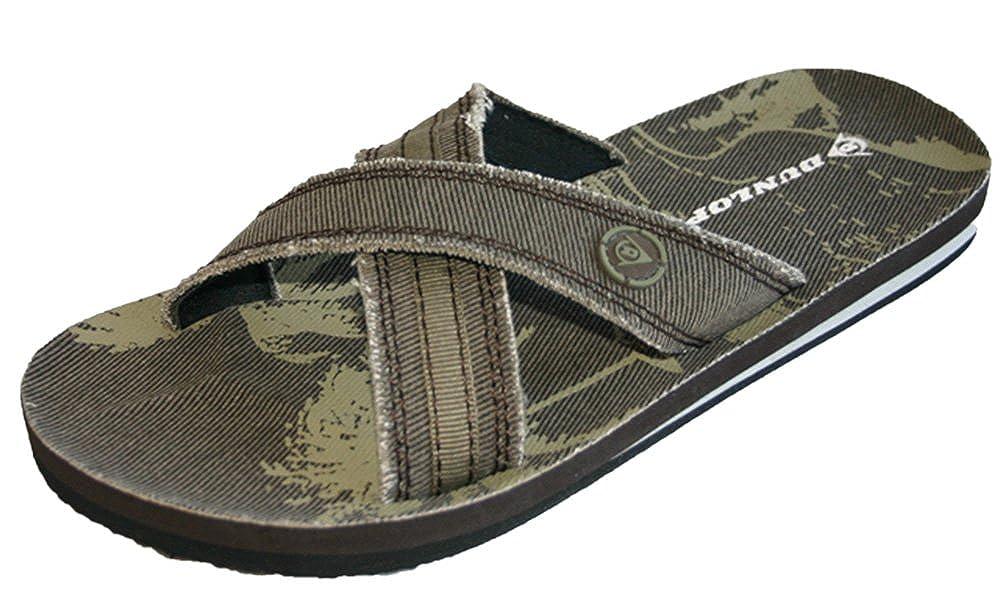 Dunlop Claquettes pour homme Pointure 39, 5-46