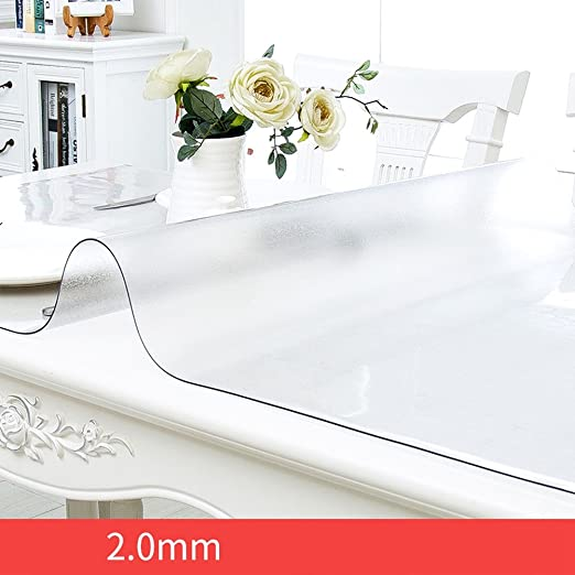 vbimlxft- Protector para Muebles Esmerilado Mantel de PVC Tablero ...